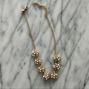 J Crew Gemstone Necklace